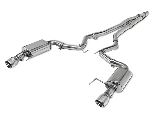 Kooks Cat-Back Exhaust w/ Polished Tips (15-18 EcoBoost)