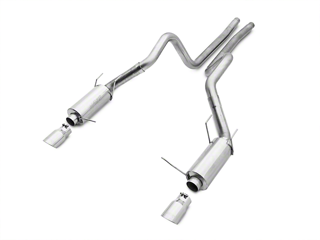 MBRP Street Cat-Back Exhaust - Aluminized (11-14 GT)