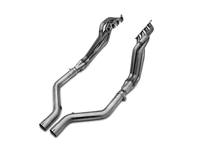 MBRP Long Tube Header and Off-Road Mid-Pipe Kit - 1-7/8 in x 3 in. (15-17 GT)