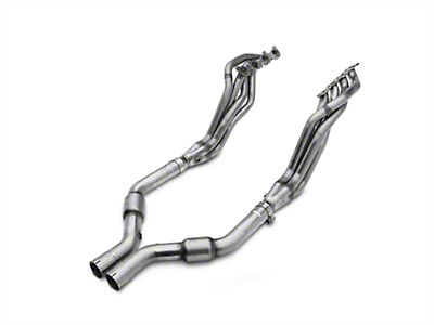 MBRP 1-7/8 x 3 in. Long Tube Catted Headers (15-18 GT)