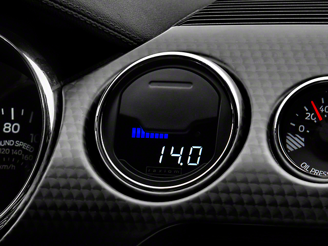 Raxiom Vent Integrated Boost Gauge without Vent Housing (15-20 All)