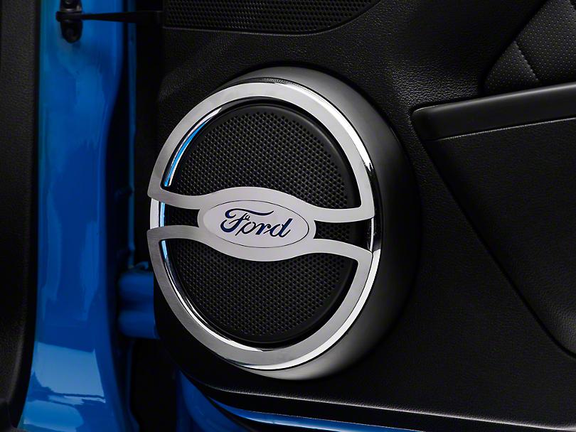 Speaker Trim w/ Ford Oval Logo (10-14 All)