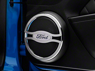 Speaker Trim w/ Ford Oval Logo (10-14 All)