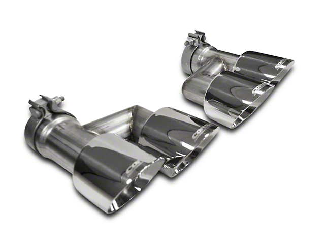 Corsa Quad 4 in. Polished Pro Series Exhaust Tips (15-20 GT w/ Corsa Exhaust)