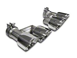 Corsa Quad 4 in. Polished Pro Series Exhaust Tips (15-19 GT w/ Corsa Exhaust)