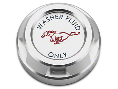 Scott Drake Washer Reservoir Cap - Running Pony Logo (15-18 GT, EcoBoost, V6)