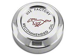 Scott Drake Oil Cap Cover - Running Pony Logo (15-17 GT, V6)