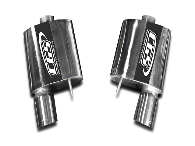 CGS Motorsports Axle-Back Exhaust (15-17 GT)