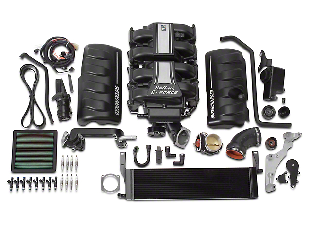 Edelbrock E-Force Stage 1 Street Supercharger Kit w/o Tuner (05-09 GT)