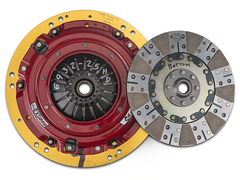 McLeod RXT Twin Disc 1200HP Ceramic Clutch Kit; 23 Spline (11-17 GT; 12-13 BOSS 302)