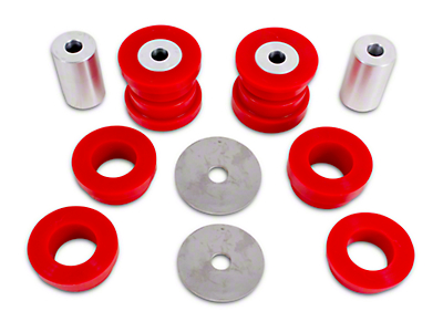 BMR Rear Cradle Bushing Kit - Red Polyurethane (15-18 All)