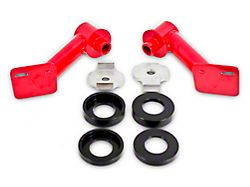 BMR IRS Cradle Bushing Lockout Kit - Red (15-20 Fastback)