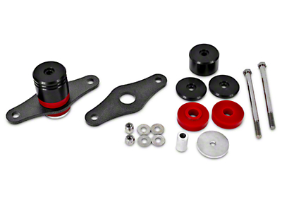 BMR Adjustable Motor Mount Kit - Polyurethane Bushings (05-17 GT, V6)