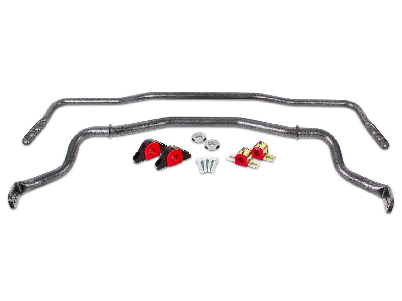 BMR Adjustable Front & Rear Sway Bars - Hammertone (15-19 All)