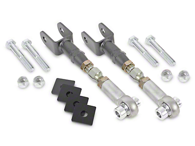 BMR Adjustable Rear Toe Links - Hammertone (15-17 All)