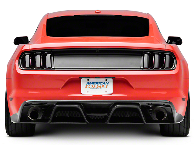 Anderson Composites Type-GR GT350 Style Rear Diffuser - Carbon Fiber (15-17 GT Premium, EcoBoost Premium)