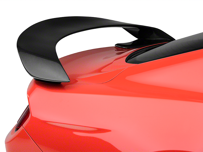 Anderson Composites Type-GR GT350R Style Rear Spoiler - Carbon Fiber (15-18 Fastback)