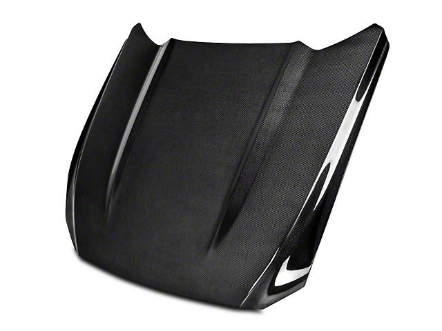 Anderson Composites Type-OE Hood - Double Sided Carbon Fiber (15-17 GT, EcoBoost, V6)