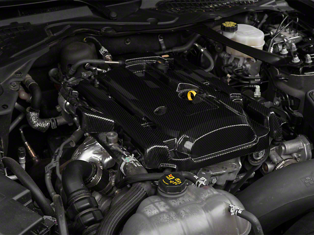 Anderson Composites Engine Cover - Carbon Fiber (15-17 EcoBoost)