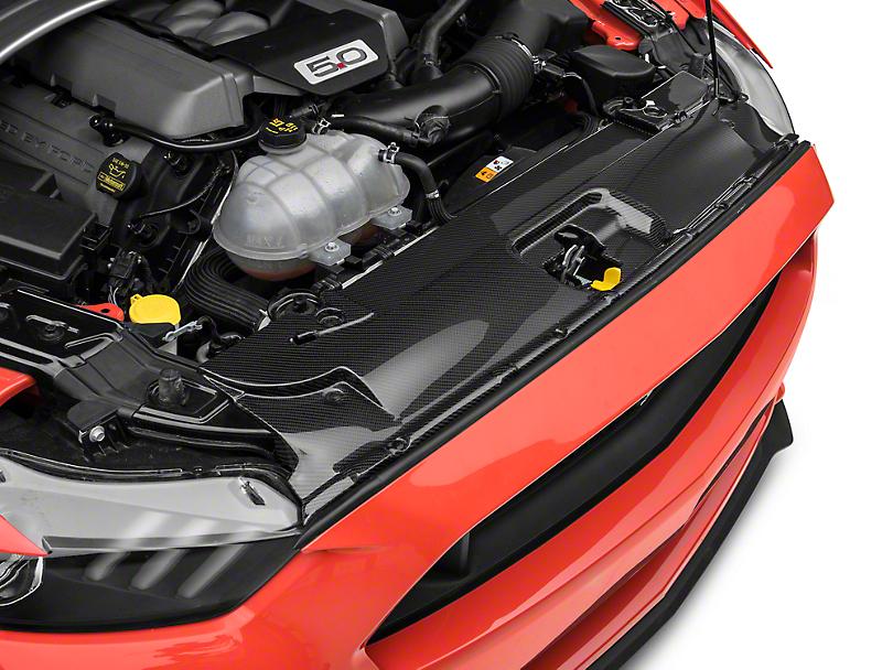 Anderson Composites Radiator Cover - Carbon Fiber (15-17 GT, EcoBoost, V6)