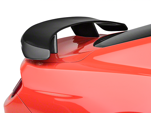 Anderson Composites Type-AT Rear Pedestal Spoiler - Carbon Fiber (15-18 Fastback)