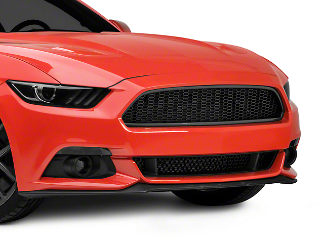 Anderson Composites Type-AE Mesh Upper Grille; Carbon Fiber (15-17 GT, EcoBoost, V6)