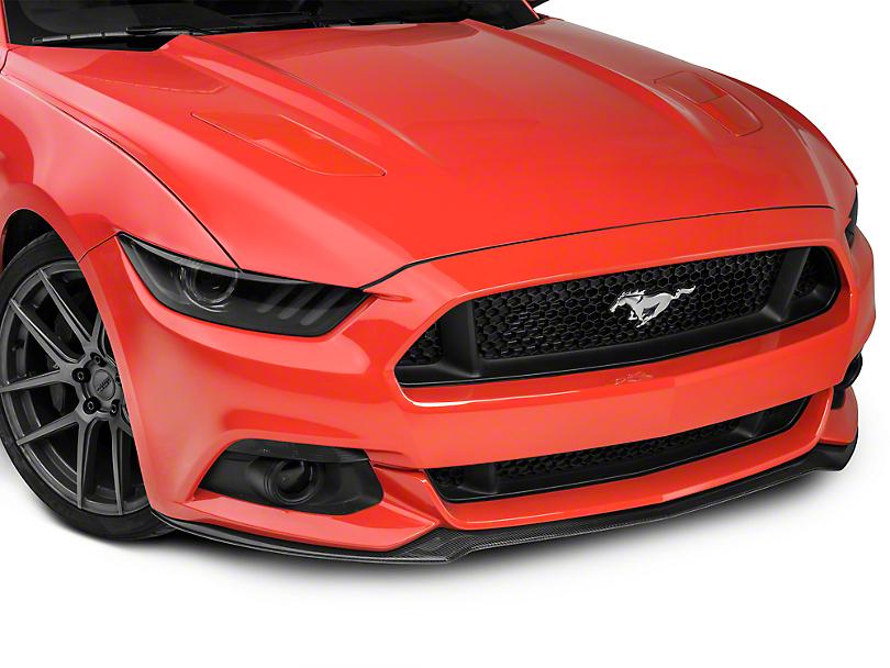 Anderson Composites Type-OE Front Chin Splitter - Carbon Fiber (15-17 GT, EcoBoost, V6)