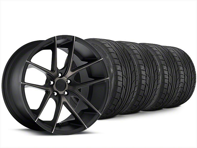 Niche Targa Matte Black Wheel & NITTO NT555 G2 Tire Kit - 20x8.5 (15-19 All)