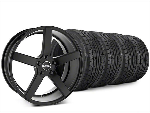 MMD 551C Matte Black Wheel & NITTO NT555 G2 Tire Kit - 20x8.5 (15-18 GT, EcoBoost, V6)