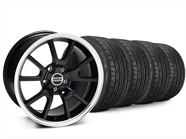 FR500 Style Black Wheel & NITTO NT555 G2 Tire Kit - 20x8.5 (15-19 All)