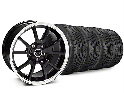 FR500 Style Black Wheel & NITTO NT555 G2 Tire Kit - 20x8.5 (15-18 All)