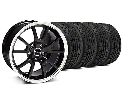 FR500 Style Black Wheel & Michelin Pilot Sport A/S 3+ Tire Kit - 20x8.5 (15-18 All)