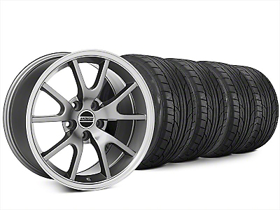 FR500 Style Anthracite Wheel & NITTO NT555 G2 Tire Kit - 20x8.5 (15-18 All)