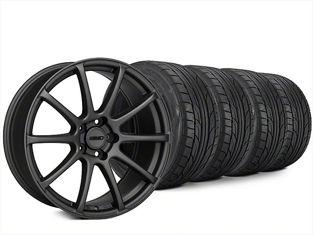 MMD Axim Charcoal Wheel & NITTO NT555 G2 Tire Kit - 20x8.5 (15-17 All)