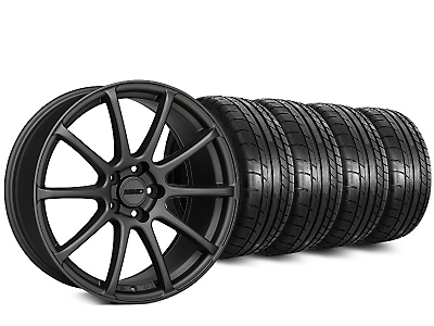 MMD Axim Charcoal Wheel & Mickey Thompson Street Comp Tire Kit - 20x8.5 (15-18 GT, EcoBoost, V6)
