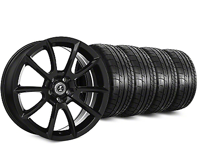 Super Snake Style Black Wheel & Mickey Thompson Street Comp Tire Kit - 19x8.5 (15-18 GT, EcoBoost, V6)