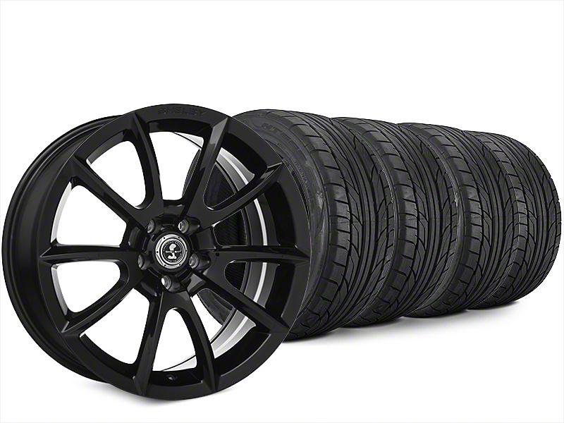 Super Snake Style Black Wheel & NITTO NT555 G2 Tire Kit - 20x9 (15-18 All)