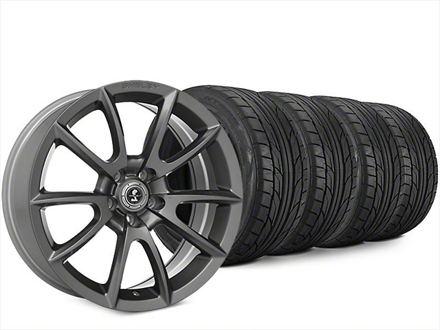 Super Snake Style Charcoal Wheel & NITTO NT555 G2 Tire Kit - 20x9 (15-18 All)