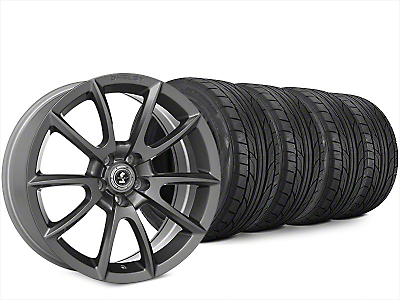 Super Snake Style Charcoal Wheel & NITTO NT555 G2 Tire Kit - 20x9 (15-19 All)
