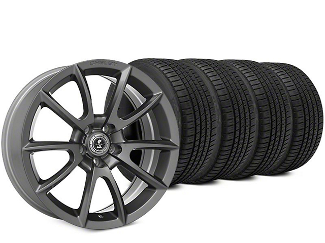 Super Snake Style Charcoal Wheel & Michelin Pilot Sport A/S 3+ Tire Kit - 20x9 (15-18 All)