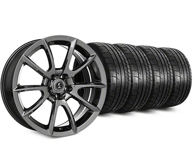 Super Snake Style Chrome Wheel & Mickey Thompson Street Comp Tire Kit - 19x8.5 (15-19 GT, EcoBoost, V6)