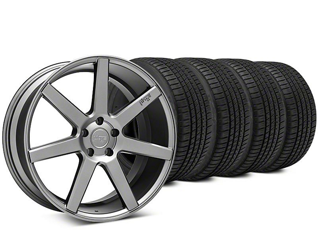 Niche Verona Anthracite Wheel & Michelin Pilot Sport A/S 3+ Tire Kit - 20x9 (15-18 All)
