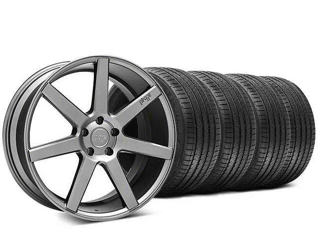 Niche Verona Anthracite Wheel & Sumitomo HTR Z III Tire Kit - 20x9 (15-18 GT, EcoBoost, V6)