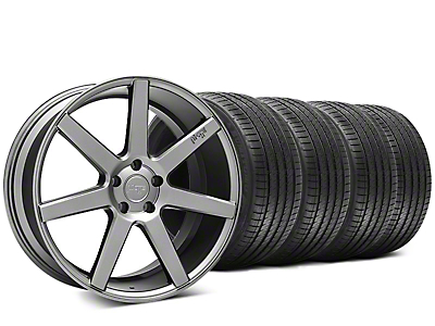 Niche Verona Anthracite Wheel & Sumitomo HTR Z III Tire Kit - 20x9 (15-18 All)