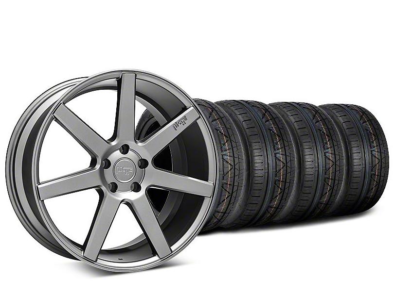 Niche Verona Anthracite Wheel & NITTO INVO Tire Kit - 20x9 (15-18 All)