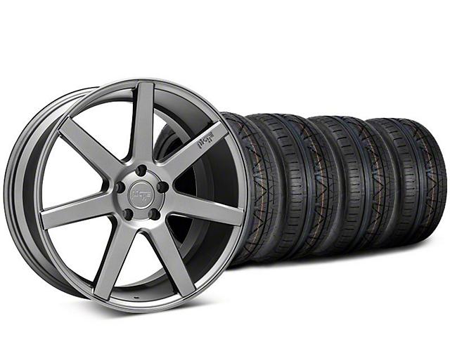 Niche Verona Anthracite Wheel & NITTO INVO Tire Kit - 20x9 (15-19 GT, EcoBoost, V6)