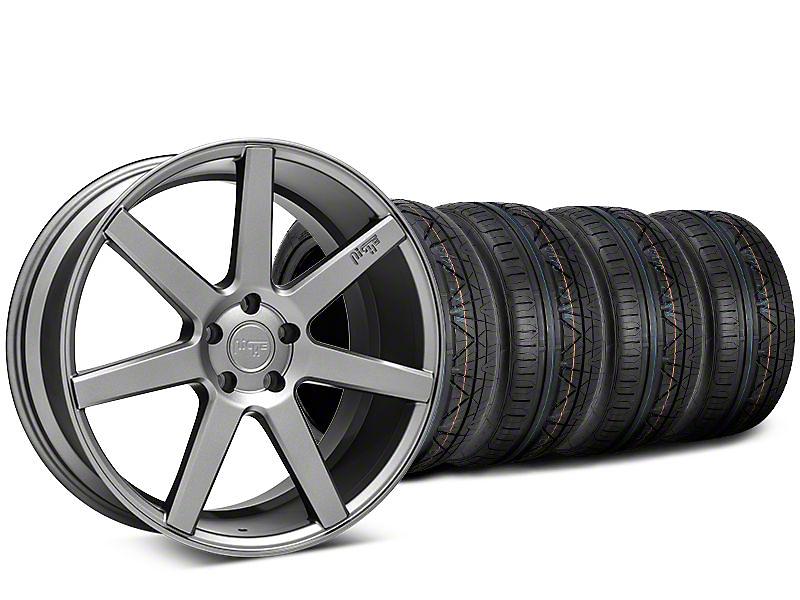 Niche Verona Anthracite Wheel & NITTO INVO Tire Kit - 20x9 (15-17 All)