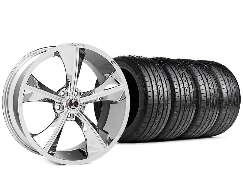 Shelby CS70 Chrome Wheel & Sumitomo HTR Z III Tire Kit - 20x9 (15-17 All)