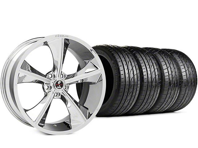 Shelby CS70 Chrome Wheel & Sumitomo HTR Z III Tire Kit - 20x9 (15-18 GT, EcoBoost, V6)