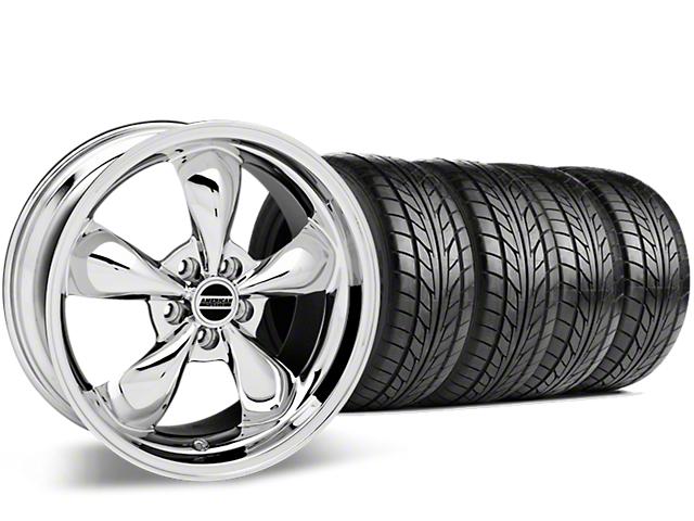 Bullitt Chrome Wheel & NITTO G2 Tire Kit - 18x9 (99-04 All)